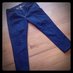 Lucky Brand skinny crop jean